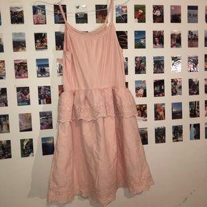 Gap Kids Pink Flowy Dress